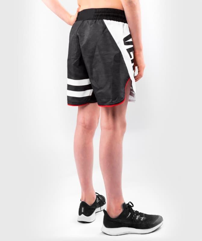 Mma Shorts Kids Venum Bandit Black Grey Free Shipping