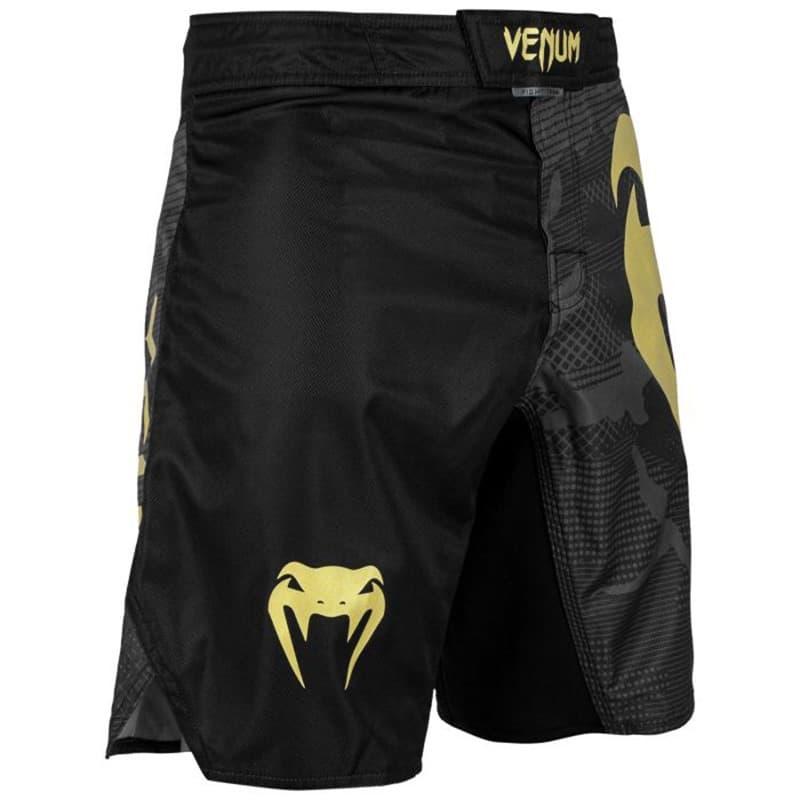 Mma Shorts Venum Light 3 0 Gold Black Free Shipping