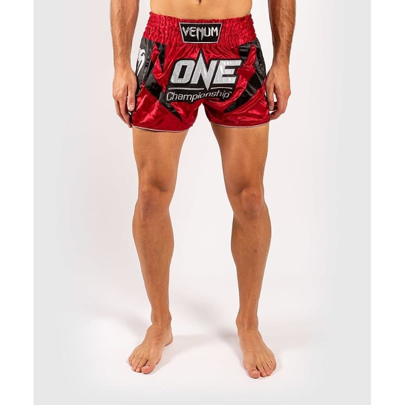 Muay Thai Shorts Venum X One Fc Red Free Shipping