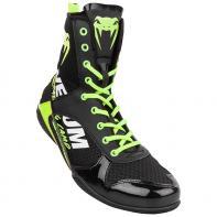 Boxing shoes Venum Elite Edition VTC 2 black/ neo yellow