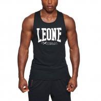 T-shirt Leone Logo black tank top