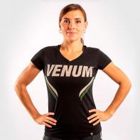 Women Shirt Venum ONE FC Impact black / khaki