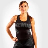 Women Shirt Venum ONE FC Impact Dry Tech black / black Tank top