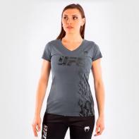 Venum UFC Authentic Fight Week Women's Short Sleeve Gray T-Shirt