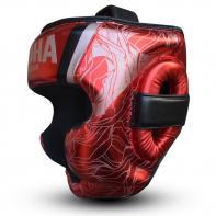 Boxing helmet Buddha Galaxy red