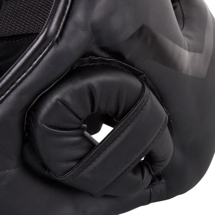 Headgear Venum Elite Iron Black/Black
