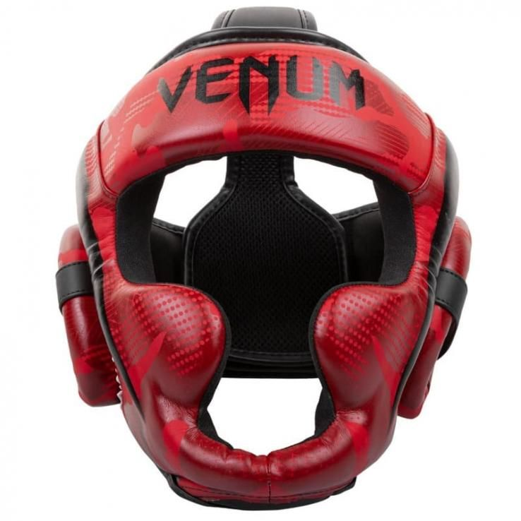 Headgear Venum Elite Red Camo