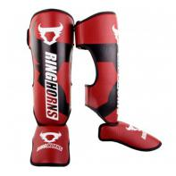 Shinguards Ringhorns Charger  red By Venum