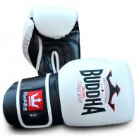 Boxing gloves Buddha Colors white