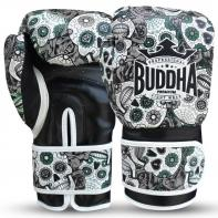 Boxing gloves Buddha Mexican black