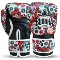 Boxing gloves Buddha Mexican red