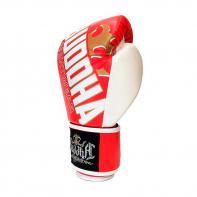 Boxing gloves Buddha Millenium white red Kids