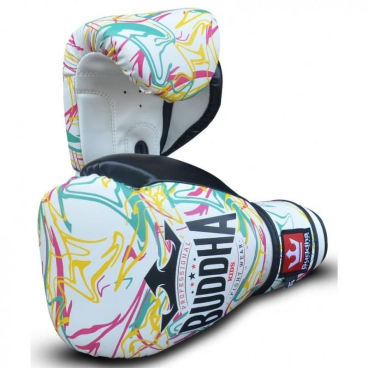 Boxing gloves Kids Buddha Pikachu white