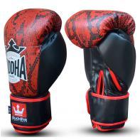 Boxing gloves Buddha Snake Red