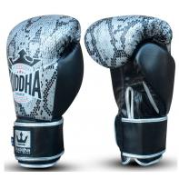 Boxing gloves Buddha Snake Silver