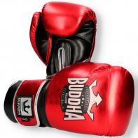 Boxing gloves Buddha Deluxe red metallic