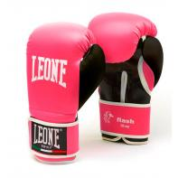 Boxing Gloves Leone Flash Pink
