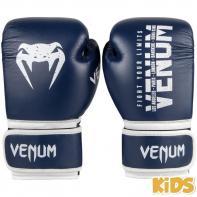 Boxing gloves Kids Venum Signature navy blue