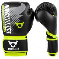 Boxing gloves Ringhorns Charger MX Black Neo Yellow By Venum