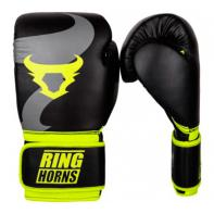 Boxing gloves Ringhorns Charger Black Neo Yellow By Venum