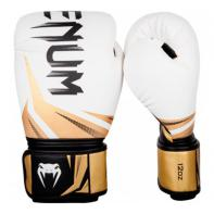 Boxing gloves Venum Challenger 3.0 White / Black / Gold