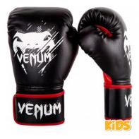 Boxing gloves Kids Venum Contender Black/Red