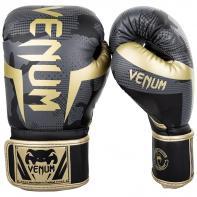 Boxing gloves Venum Elite Dark Camo / Gold