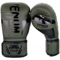 Boxing gloves Venum Elite khaki/black