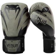 Boxing Bloves Venum Impact Black Khaki