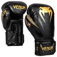Boxing gloves Venum Impact black/gold