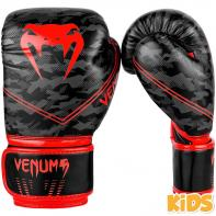 Boxing gloves Kids Venum Okinawa 2.0 black / red