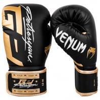 Boxing gloves Venum Petrosyan black/gold