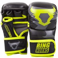 MMA Gloves  Ringhorns Sparring Charger Neo Yellow By Venum