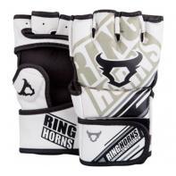 MMA Gloves  Ringhorns Nitro White By Venum