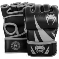 MMA Gloves Without Thumb Venum Challenger black / grey