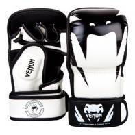 MMA Gloves Venum Impact Sparring Black White
