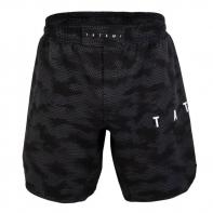 MMA Shorts Tatami Standard Edition Black Digital Camo Grapple Fit Shorts