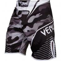 MMA Shorts Venum Camo Hero White / Black