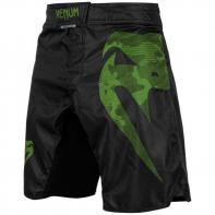 MMA Shorts Venum Light 3.0 black/khaki