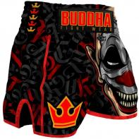 Muay Thai Shorts Buddha Retro Crown