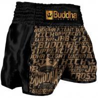 Muay Thai Shorts Buddha Retro Golden Kids