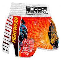 Muay Thai Shorts Buddha Retro Koi