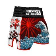 Muay Thai Shorts Buddha RetroTsunami Kids