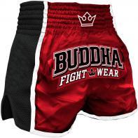 Muay Thai Shorts Buddha Retro X Red