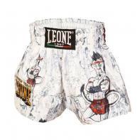 Muay Thai Shorts Leone Ramón Jr Kids White