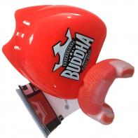 Mouthguard Buddha Premium red