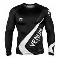 Rashguard Venum Contender 4.0 Black/Grey-White l/s