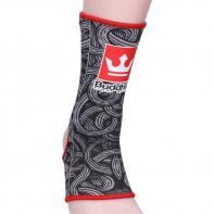 Buddha ankle support Tattoo black