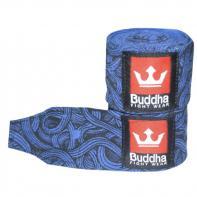 Handwraps Buddha Tattoo blue 4,5m